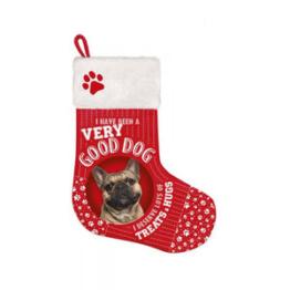 Plenty Gifts – Weihnachtssocken Französische Bulldogge