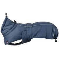 TRIXIE Hundemantel Hundewintermantel Prime blau 80 cm