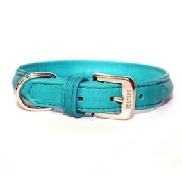 Wolters Hunde-Halsband »Terravita Leder«, petrol