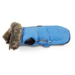 Wolters Hundemantel »Hundeparka Fellkragen«, blau
