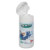 Sport-Tec DESTIX Desinfektionstücher in Spenderbox, 13x20 cm, 120 Stück 28580
